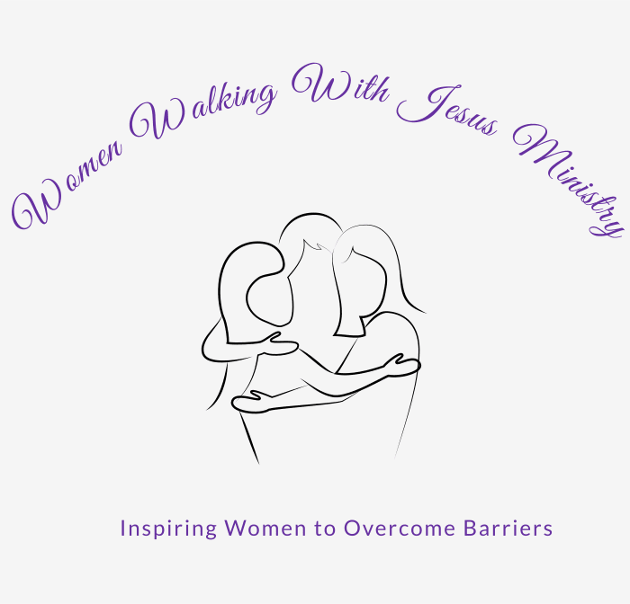 Women Walking With Jesus